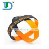 2017 Wristbands caldi del silicone di segmento di disegno per l'esportazione