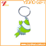 Kundenspezifisches Förderung-Geschenk Hight Qualitätsdecklack-Kleber-Metall Keychains /Keyring /Keyholder (YB-HD-53)