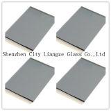 6mm té Gris cristal tintado&de vidrio de color&vidrio pintado para la decoración/edificio