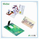 Кредитная карта флэш-накопитель USB с настройка логотип (WY-C08)
