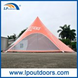 10m Outdoor Spider Shade Red Bull Star Tent para Evento