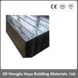Plaqué zinc C-Panne de matériel de construction du canal C