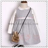 Os vestidos das meninas do inverno Short o vestido da menina da forma do vestido para o adolescente