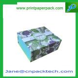 Kundenspezifisches Offsetdrucken-Flachgehäuse-Papier-Geschenk-verpackenbuch-Kasten