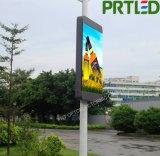 Tabellone del LED di colore completo di pollice P3 di alta risoluzione 60 per la pubblicità esterna del Palo