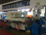 Alambre plástico del cable, PP, el PE, máquina de la protuberancia del PVC