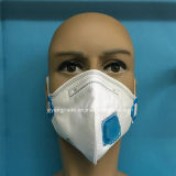 Respirador disponible plegable Ffp1 con el plano vertical con la válvula