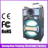 Feiyang / Temeisheng High End altavoz portátil portátil recargable con luz LED - Qx-1212