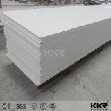Superficie solida acrilica bianca come la neve di Corian per Worktop