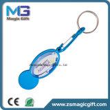 Preiswerte fördernde Metallmünze Keychain