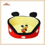 귀여운 Mickey 작풍 개 침대 & 애완 동물 침대