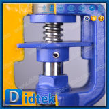El aceite caliente Didtek transmitir el fuelle de disco de regulación de la válvula de globo