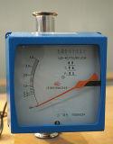 Le mètre de flux d'air avec le rotamètre en verre de commutateur d'alarme Débitmètre-Circulent mètre