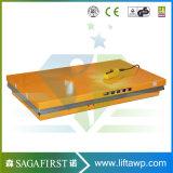 1ton China elektrischer Static Scissor Aufzug-Plattform für anhebende Waren mit CER