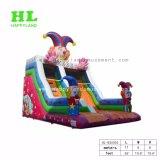 Красочный клоун тема надувные слайд для детей