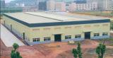 Facili prefabbricati dell'acciaio per costruzioni edili montano il workshop