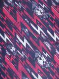Oxford 420D 600D indéchirable tissu de polyester d'impression de la foudre