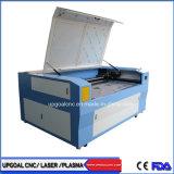Dubbele Machine van de Gravure van de Laser van Co2 van de Doek van de Stof van Hoofden Scherpe 1600*1000mm