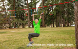 Ninjaline Hinterhof-Hindernis-Kurs-Installationssatz