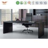 現代管理の机の側面表が付いているモジュラーオフィス用家具L形の事務机