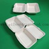 Compostable使い捨て可能ペーパー昼食生物ボックスを取り除く