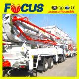 Популярные 42m, 45m Тележк-Установили конкретный насос заграждения, тележку конкретного насоса