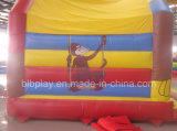 Nuovo castello di rimbalzo della scimmia di disegno di BLB per il commercio