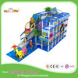 Gymnastique d'intérieur commerciale de jungle d'enfant en bas âge de cour de jeu