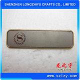 Distintivo di nome in bianco del metallo dei fornitori cinesi da vendere