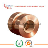 Kupfer-Beryllium Legierungsstreifen verwendet für Kontaktsprünge/Schalter /relays