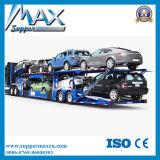 De voiture de chargement bas de page bon marché de camion de voiture de bas de page semi pour le chargement 8-12 voitures