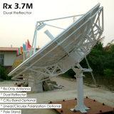 3.7m Rx nur Satellitenantenne (Doppelreflektor)