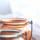 Iron Handle를 가진 꽃 Bud Colour Star Glass Vase
