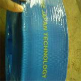 La baja temperatura de 12 pulgadas de gran diámetro de manguera de PVC flexible Layflat 10 bar