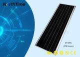 lâmpada de rua solar Integrated ao ar livre do diodo emissor de luz 80W com sensor do corpo