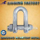 Matelの低下はボルトが付いているG2130クレーン吊り鎖のアンカー手錠を造った