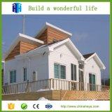 Casa prefabricada de lujo prefabricada del chalet de la estructura de acero de 2017 China