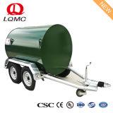 1500L trailer do tanque de água de aço