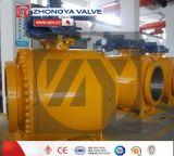 elektrisches gebetriebenes Stahl-industrielles Kugelventil der Form-3PC