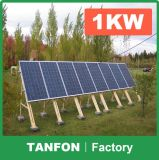 300W à 30kw outre de système d'alimentation solaire d'utilisation de maison de réseau