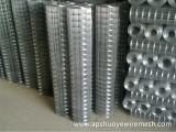 Engranzamento de fio soldado revestido PVC galvanizado do aço inoxidável