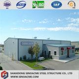 Heißes Verkaufs-niedrige Kosten-große Überspannungs-vorfabriziertes Stahlkonstruktion-Lager