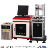macchina UV della marcatura del laser di ultravioletto 3With5W per la plastica del metallo