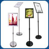 Aluminiumplakat-Ausstellungsstand für Förderung-Halter A3