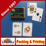 Бумага Нестандартный формат печати логотипа игральную карту, Покер карты печать, игровых карт для рекламы
