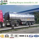 3 assen China 42 Cbm de Aanhangwagen van de Vrachtwagen van de Tanker van de Stookolie van het Nut