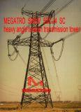 Башня передачи напряжения угла Sc Megatro 500kv 5b2-J4 тяжелая