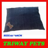 Coxim confortável macio do cão de veludo (WY161072)