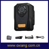 Carrocería granangular de 140 del grado de ley de aplicación de la carrocería policía de la cámara desgastada construida en el GPS