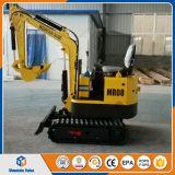 中国の安いクローラー掘削機小さい掘る機械0.8ton ~1.5ton小型坑夫